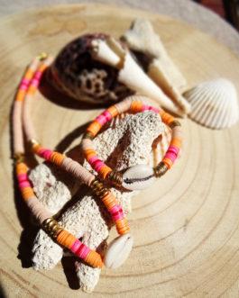 Bracelet West Coast et collier Hawaï82